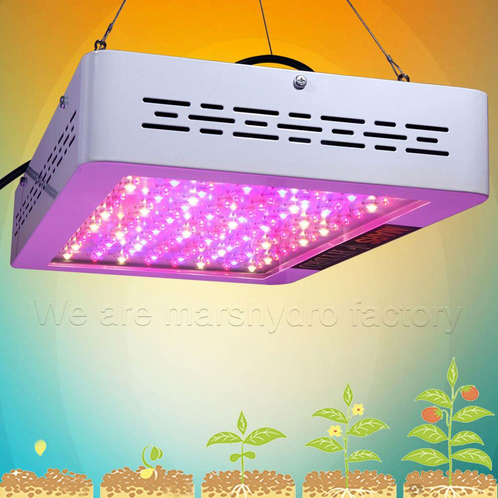 Mars Hydro Mars 600W LED Grow Light Best For Beginner Full Spectrum Indoor Hydroponics Planting Duty Free Grow Tent Plants