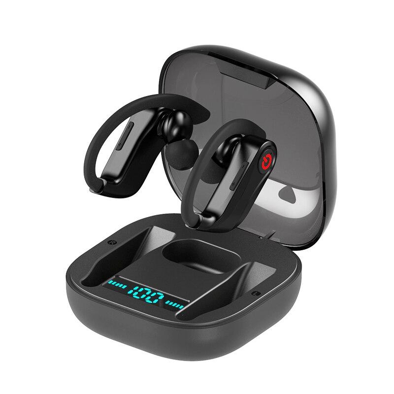 TWS Stereo Esporte Sem Fio Bluetooth fone de Ouvido Sem Fio Fones de Ouvido fone de Ouvido com Cancelamento de Ruído com Caixa De Carregamento Microfone do Fone De Ouvido HBQ PRO