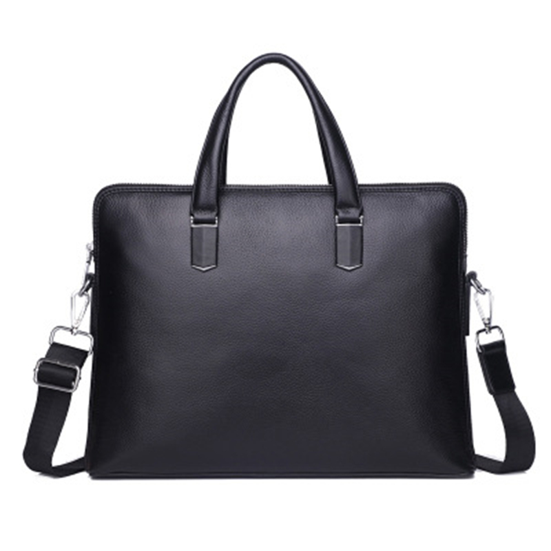 Real Genuine Leather Briefcases Men Laptop Handbag Mens Document Bag Male Messenger Bags Business Laptop Briefcase For Men Bag