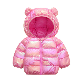 LZH 2020 Autumn Winter Newborn Baby Clothes For Baby Boys Jacket Baby Dinosaur Print Outerwear Coat For Infant Baby Girls Jacket 6