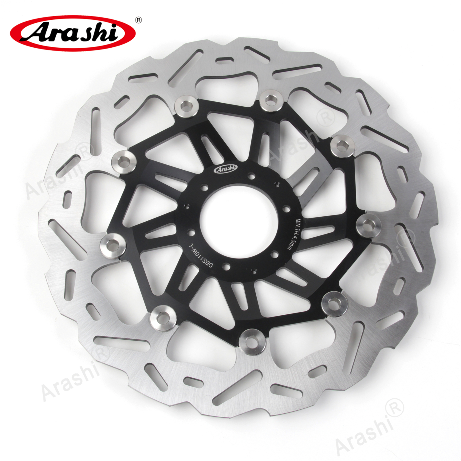 CRF1000 L AFRICA TWIN ADV ABS/2018-2019 Motorcycle Replacement Accessories CRF 1000L Black Arashi Front Brake Disc Rotors for Honda CRF1000L AFRICA TWIN ABS 2016-2019