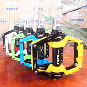 Image 1 - 2020 New Bicycle Pedals magnesium Aluminum alloy Pedal MTB Road Bike Pedals 5 colors optional