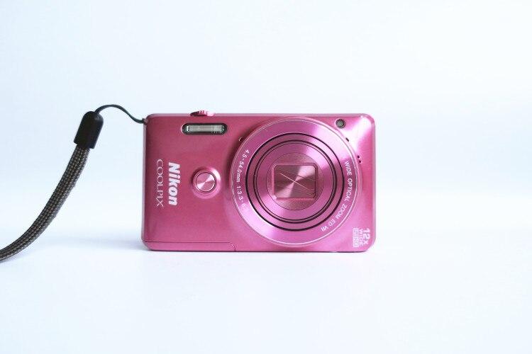 Б/у цифровая камера Nikon COOLPIX S6900 с 12x оптическим зумом и встроенным поворотным экраном Wi-Fi/NFC