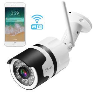 Image 1 - CPVan IP6 IP המצלמה HD 1080P WiFi Bullet מצלמה עם עמיד למים ראיית לילה זיהוי תנועה אלחוטי חיצוני וידאו Surveillanc