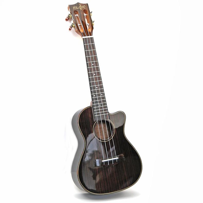 Ukulele 23 26  Inches Highgloss Rosewood  Acoustic Electric Concert Tenor Guitar Light Body 4 Strings Ukelele Guitarra Uke