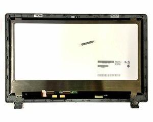Novo 15.6 laptop laptop portátil lcd touch screen digitador assembléia para acer aspire V5-573P V5-573PG V5-552