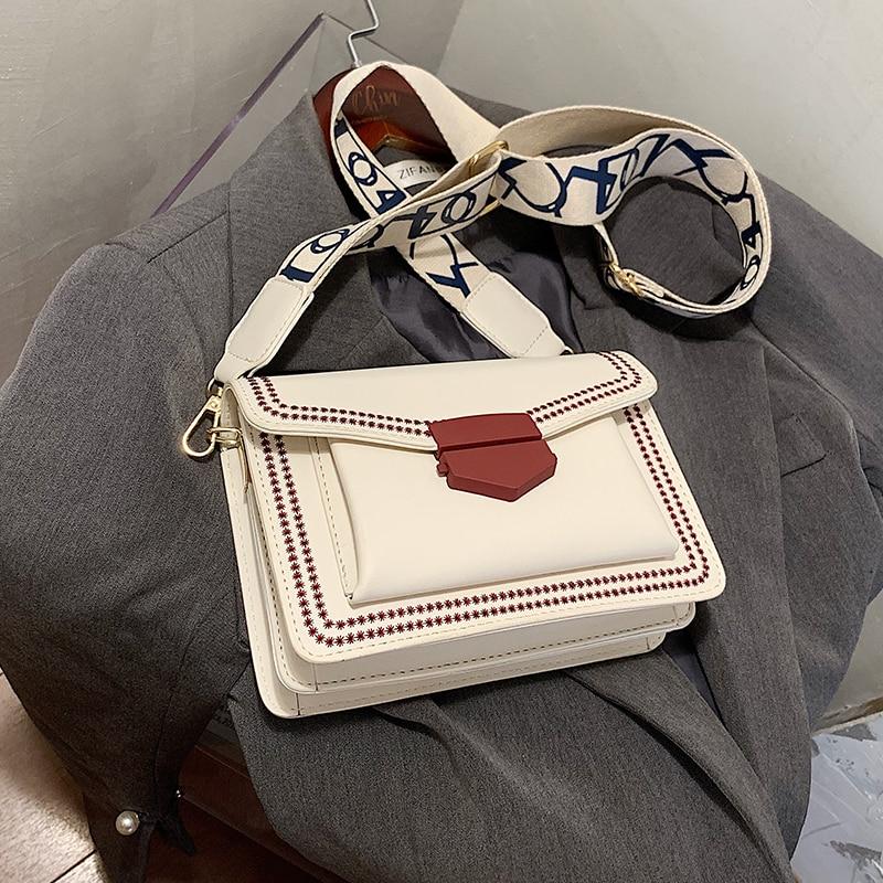 с доставкой Small square bag PU Leather Crossbody Bags Sweet Chain Shoulder Handbags Female Cross Body Bag