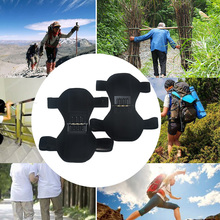 Hot 1Pair Patella Booster Spring Knee Brace Support for Mountaineering Squat Hiking Sports A66