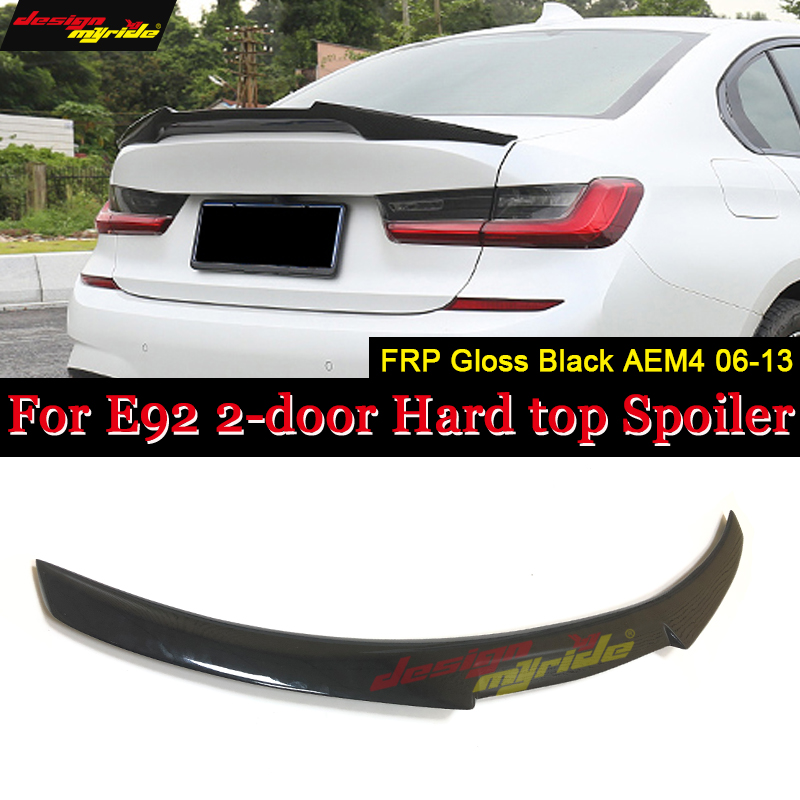 M4 Style Carbon Fiber Rear Trunk Spoiler Wing for BMW 3 Series E93