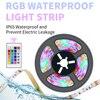 Led 스트립 빛 5V RGB Led 유연한 리본 램프 0.5/1/2/3/4/5M RGBW 네온 Luces Led 램프 테이프 원격 제어 USB TV 빛 스트립