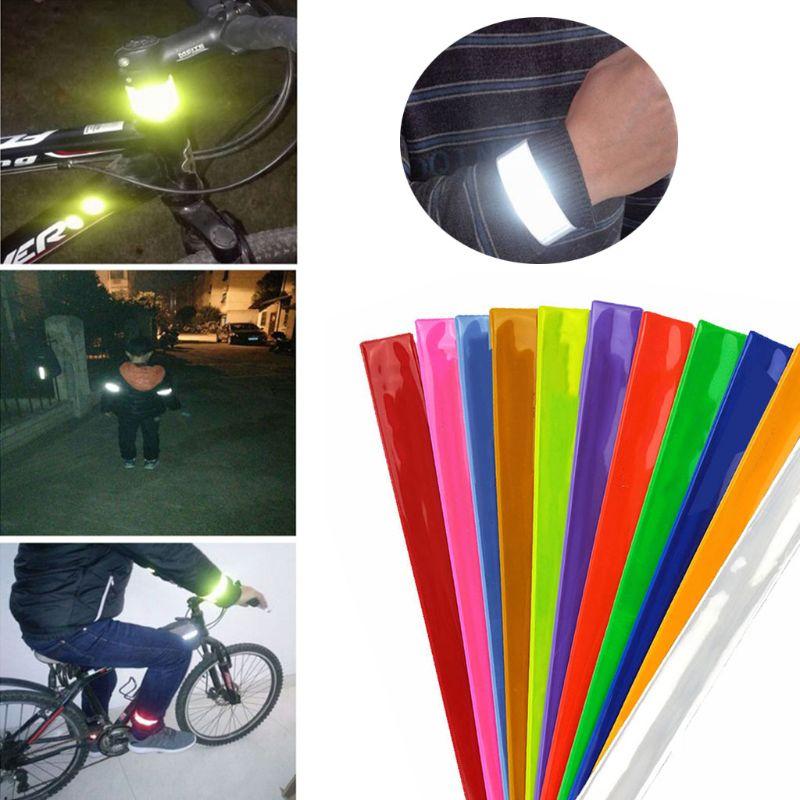 Bicycle Trouser Clips Pants Reflector Clip Clip Reflective Pants Clip