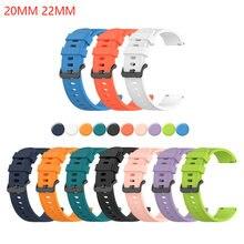 Силиконовый ремешок для samsung galaxy watch 3 45 мм/41/Активный