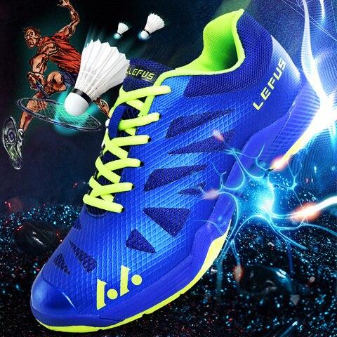 Profissional para Mulheres dos Homens Sapatos de Badminton Tênis de Mesa de Vôlei Tênis de Treinamento Sapatos de Treinamento Não-deslizamento Esporte Tamanho Grande 36-45