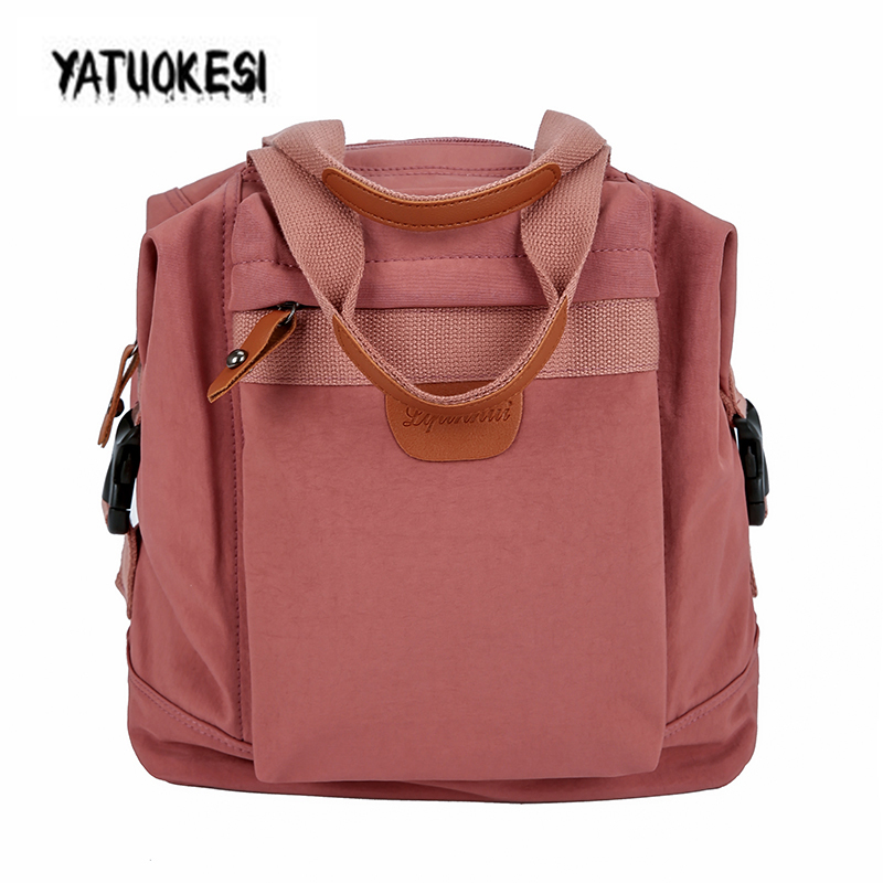 YATUOKESI 2020 New Large-Capacity Splice Pattern Female Backpack For Teenager  Studen School Bags Student Bag Mochila Travel Bag