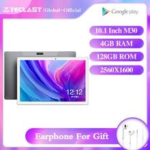 Teclast M30 tablet 10.1 inç android 8.0 4GB RAM 128GB ROM 2560 × 1600 IPS MT6797X Deca çekirdek çift kameralar usb OTG WIFI GPS tablet