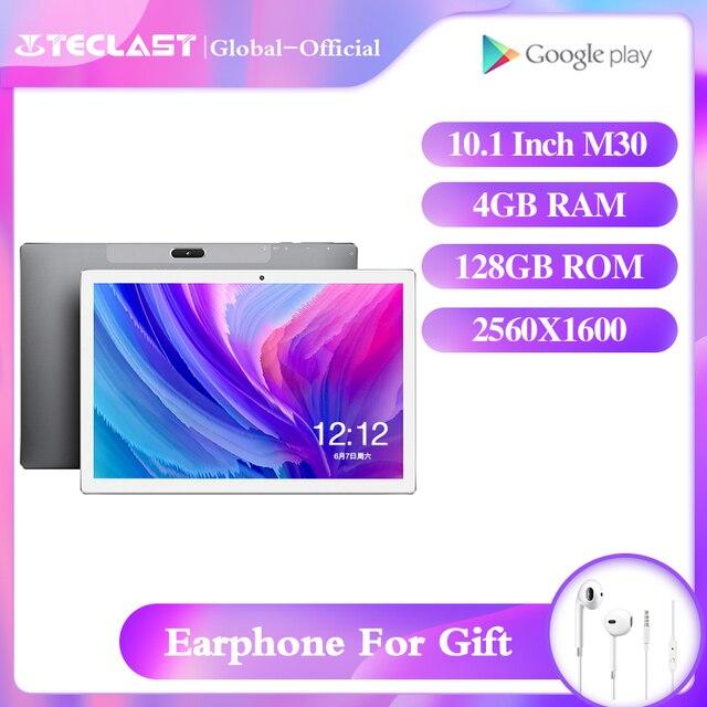 Teclast M30 tablet 10.1inch android 8.0 4GB RAM 128GB ROM 2560×1600 IPS MT6797X Deca Core Dual Cameras usb OTG WIFI GPS tablet
