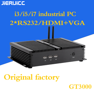 Image 4 - 2COM RS232 FANLESS MINI PC WITH 4 USB3.0,INTEL CORE I3 I5 I7 CPU DUAL CORE 4THREADS,7*24HOURS WORKING,LOW POWER CONSUMPTION