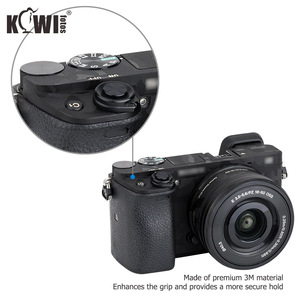 Image 4 - Kiwifotos Anti Scratch Camera Body Skin Cover Protector Film for Sony Alpha A6100 A6300 A6400 + SELP1650 16 50mm Lens 3M Sticker