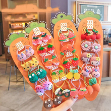 Cartoon Animal Flowers Princess Hair Band Children Girls Kids Elastic Hair Rubber Bands Accessories Tie Hair Ring Rope Headdress
