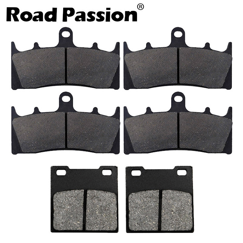 Road Passion Brake Pads Front and Rear for SUZUKI GSXR 600 1997-2003 TL1000 S 1997-2001 GSXR750 2000-2003