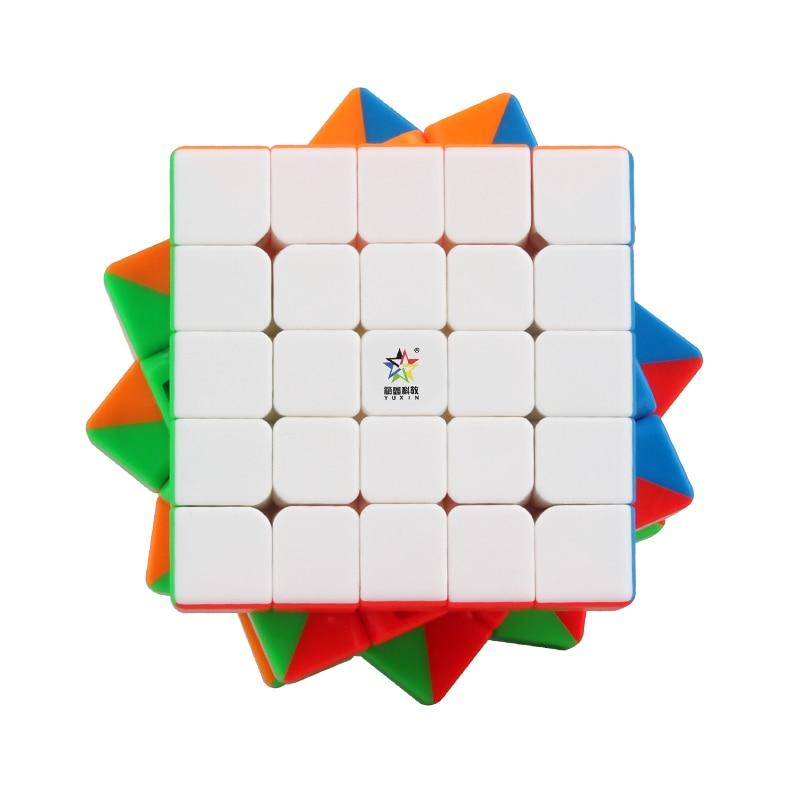 New Yuxin Black Kylin 2x2x2 3x3x3 4x4x4 5x5x5 Cube Stickerless Zhisheng Black Kirin Cube Black Skew Pyra Toys For Beginner
