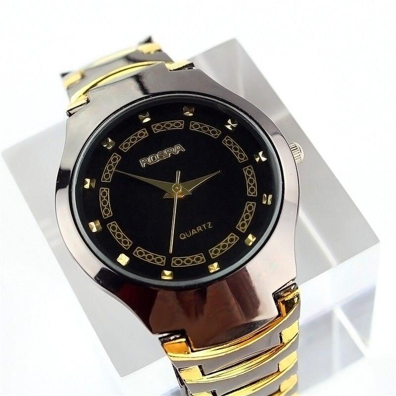 Hot Selling Men Business Watch Tungsten-like Steel Wrist Watch Luxury Titan Style Watch Men and Women Unisex Thin Watch