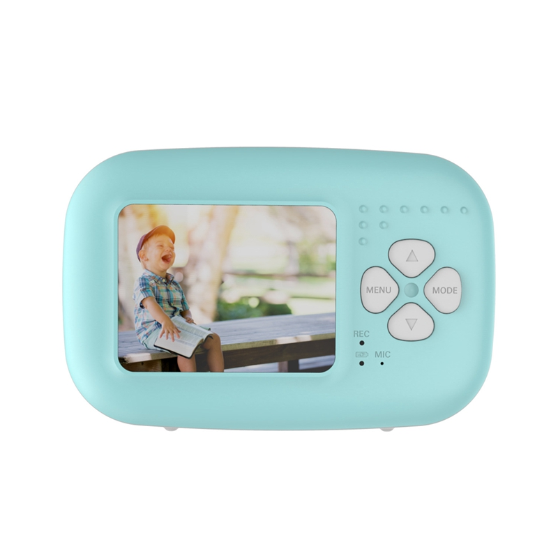Mini Children Camera Kids Digital Camera Toy 1080 HD 2Inch Large Screen Cute Camera Toy Children Birthday Gift Educational Toy