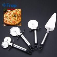 4 стиля нержавеющей стали резак для пиццы двойные роликовые колеса резак для пиццы, нож для кондитерских изделий ПАСТА ТЕСТО щипцы кухонные инструменты для пиццы