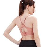 2019 New underwear women shock proof running gather shape lady suit beautiful vest lady bra Gym Vest