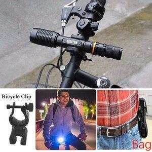 Image 5 - ズーム可能なトーチ xml T6 L2 led 懐中電灯ズームトーチ照明ランプ自転車ライト戦術的な懐中電灯トーチ
