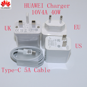 Image 1 - Original Huawei Mate30 Pro Supercharge USB Fast Charger 10V 4A 40W 5A TypeCสำหรับMagic 2 mate 20 30 Pro P20 P30 Pro