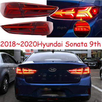 2018~2020year tail light for Hyundai sonata taillight Brake LED car accessories Taillamp for sonata rear light fog