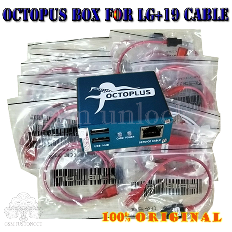 Z3x Pro Set 100% Original Octopus Box For LG Unlock &Repair Flash Tool Mobile Phone(package With 19 Cables)