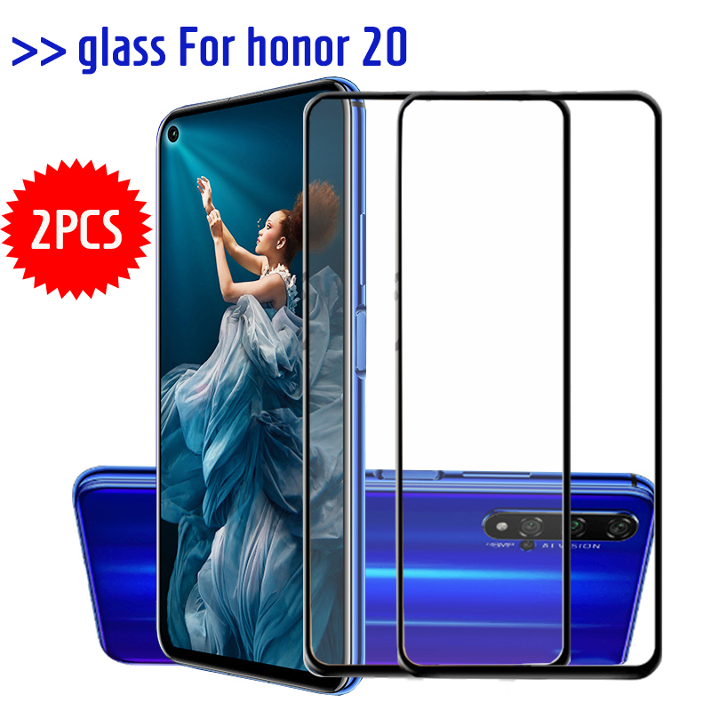 2pcs Tempered Glass Screen Protector for Huawei honor 20 Pro Protective Glass for honor 20 Glas Honor20 Honor20pro 20Pro Film
