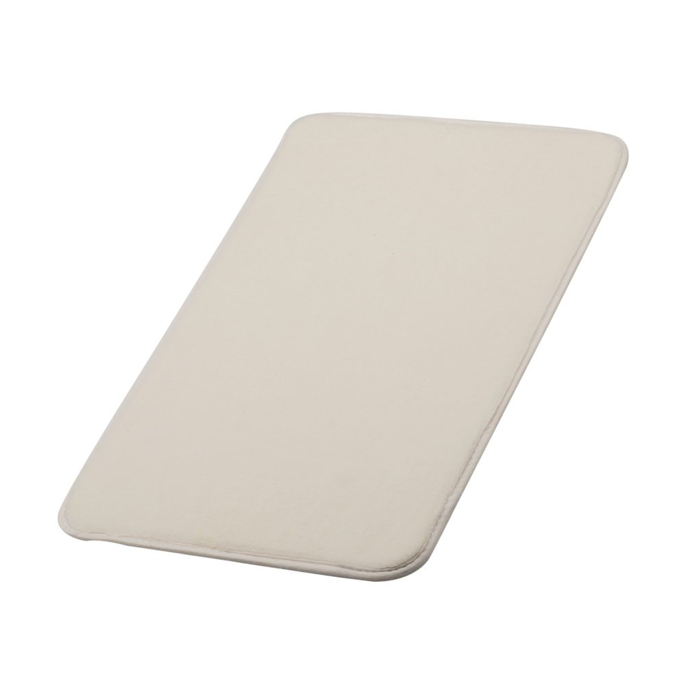 40*60m Indentation-free Memory Resilient Cotton Carpet Memory Release Conformtable Resilient Carpet Pad White