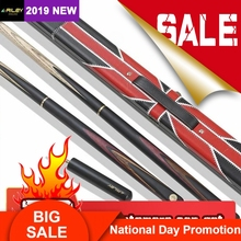 RILEY RHC-3 Snooker Cue 3/4 Split 9.5mm Professional Tip Excellent Ashwood Shaft Billar with Good Extension