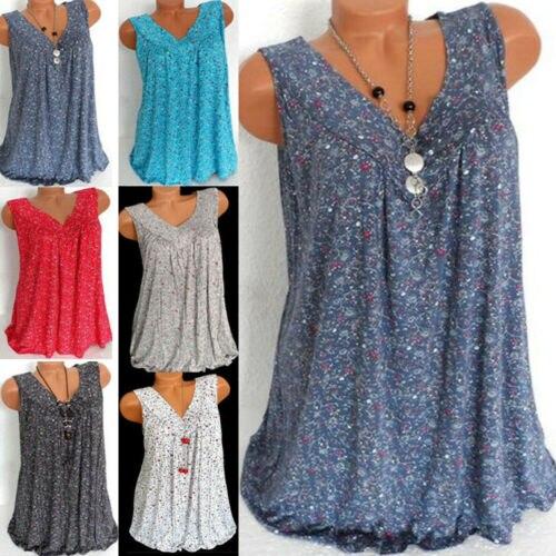 New Vintage Harajuku Womens Loose Sleeveless Summer Shirts Blouse Lady Boho Lace Tops Plus Size L-3XL