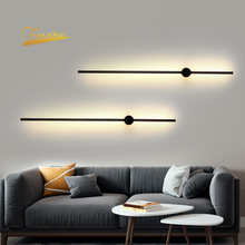 Nordic LED Wall Lamp Loft Background Wandlamp Indoor Lighting Bedroom Decor Wall Sconce Light Fixtures Aisle Wall Light For Home american loft style iron wall sconce creative gear led wall lamp industrial vintage wall light fixtures indoor lighting