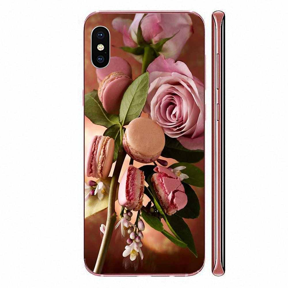 Tpu Transparante Huid Cover Macaron Laduree Voor Huawei Honor Mate 7 7A 8 9 10 20 V8 V9 V10 V30 p40 G Lite Play Mini Pro P Smart