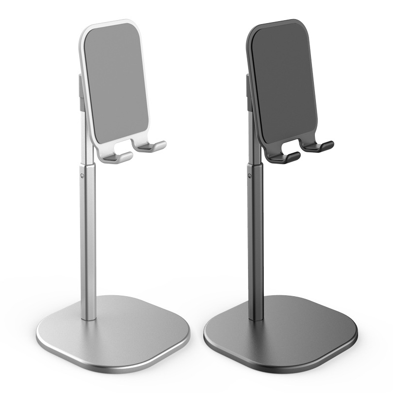 Adjustable Cell Phone Desk Stand Holder Aluminum Desktop Portable Universal Table Holder For Iphone Ipad Huawei