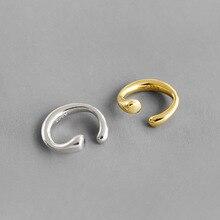 100% 925 sterling silver clip on earrings earcuff for women,