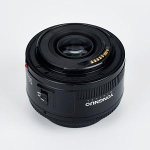 Image 3 - 高品質永諾 YN EF 50 ミリメートル f/1.8 AF キヤノン EOS 350D 450D 500D 600D 700D カメラレンズ開口オートフォーカス YN50mm レンズ