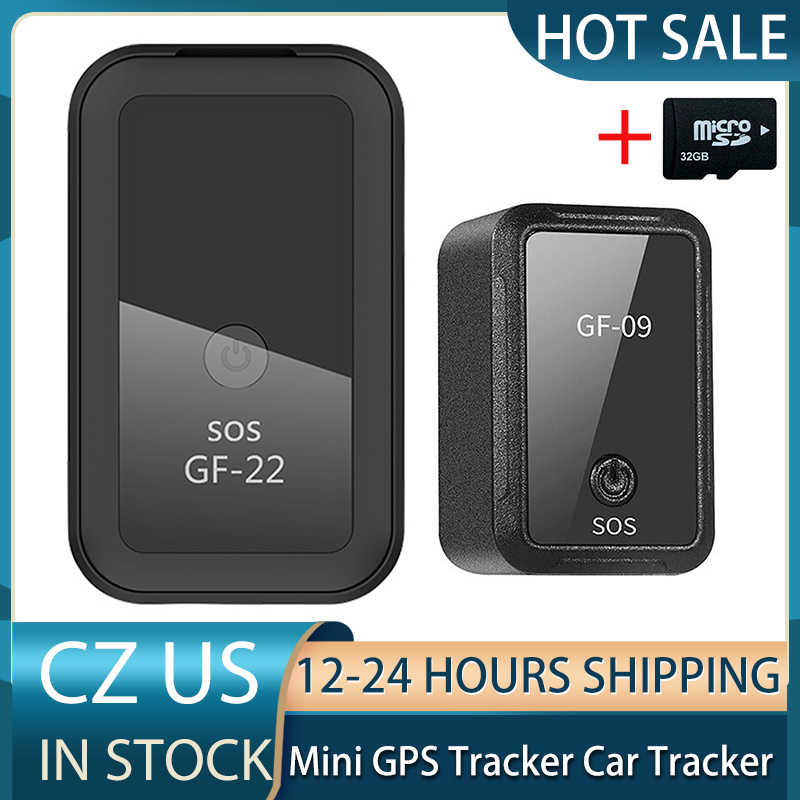 GF07 GF09 GF22 GPS Echtzeit Auto Tracker Voice Control Anti-Verloren Gerät Locator Anti-verloren Gerät Mini präzise Positioning GPS & TF