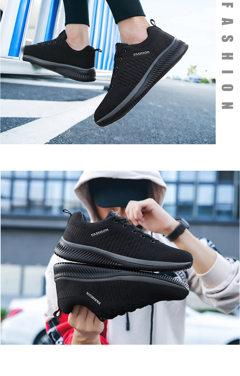 H29470bcbcaa245af8caad49d3183c72fd UEXIA Shoes for Men Summer Mesh Men Sneakers Lace Up Low Top Hollow Footwear Breathable Sale Sport Trainers Zapatillas Hombre