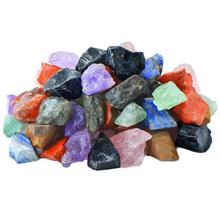 100 г натуральный камень Радуга драгоценный камень коллекция красочный камень минеральный Агат украшения ремесла для чакры исцеления