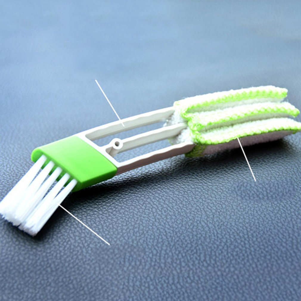 Auto Air Conditioning Outlet Cleaning Brush Dashboard Dust Brush Interior Cleaning Keyboard Blind Brush Car Accessories