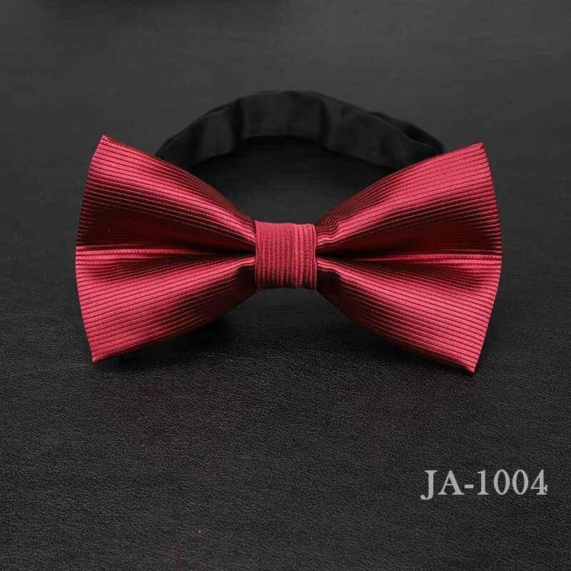 Роскошный мужской галстук-бабочка из жаккардовой ткани в горошек, в полоску, желтый, темно-синий, красный, свадебный подарок, бабочка, черный галстук-бабочка для мальчиков