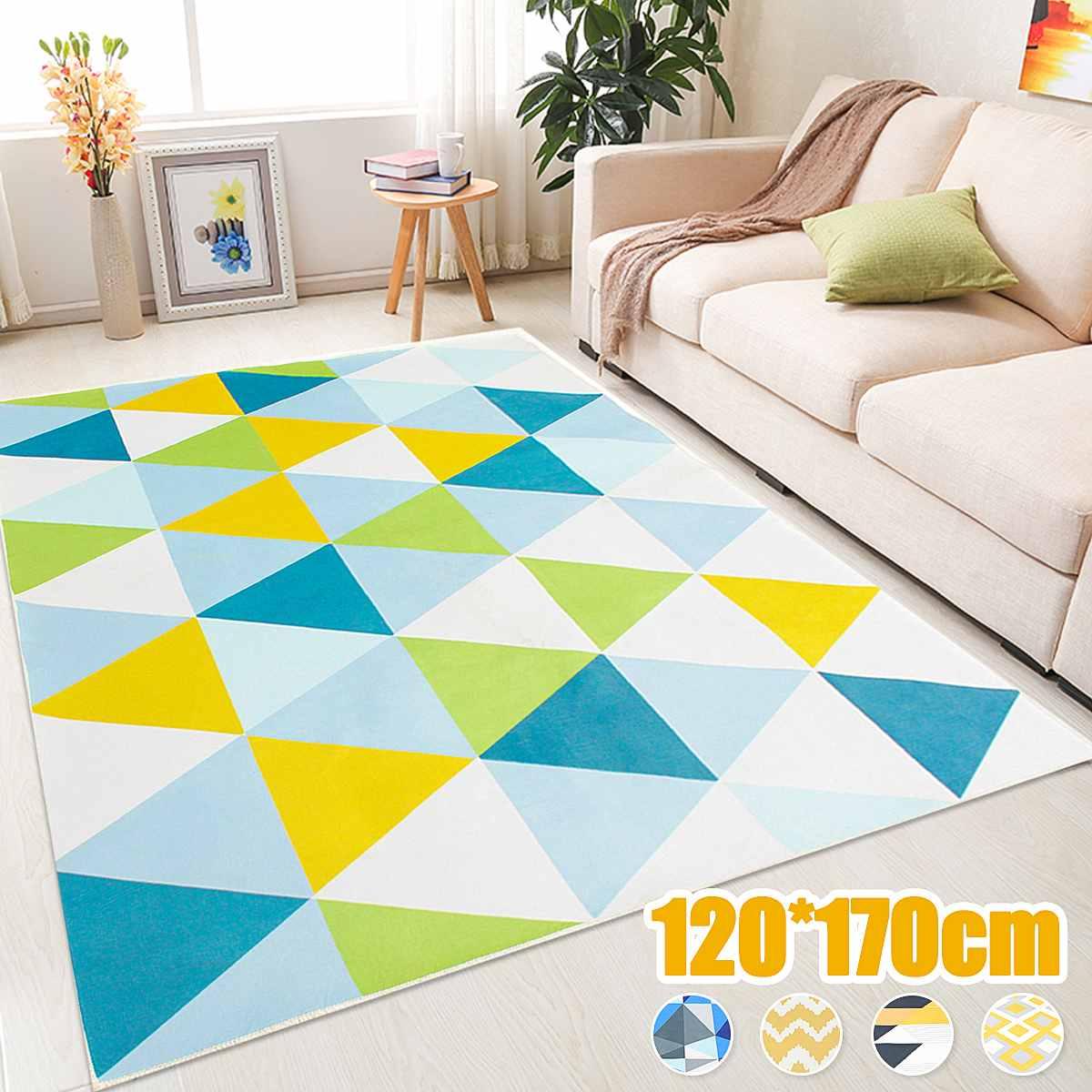 120x170cm tapis pour salon décor Style nordique 3D imprimé chambre maison canapé tapis Table Yoga tapis salle de bain tapis antidérapant