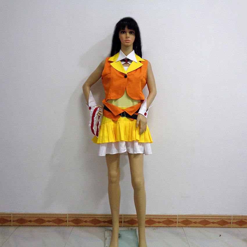 Vocaloid GUMI Mercy Cosplay Fancy Dress Party Halloween Uniform Outfit Cosplay Costume Customize Any Size