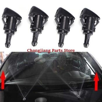 2 sztuk Chrysler 300 dla Dodge Charger Ram 2005 ~ 2012 2013 2014 2015 czarny spryskiwacz przedniej szyby wycieraczka dysza rozpylająca dysza do rozpylania wody tanie i dobre opinie CN (pochodzenie) Wiper Nozzle